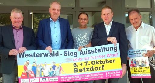 Leistungsschau: Westerwald-Sieg-Ausstellung geht in die zweite Runde