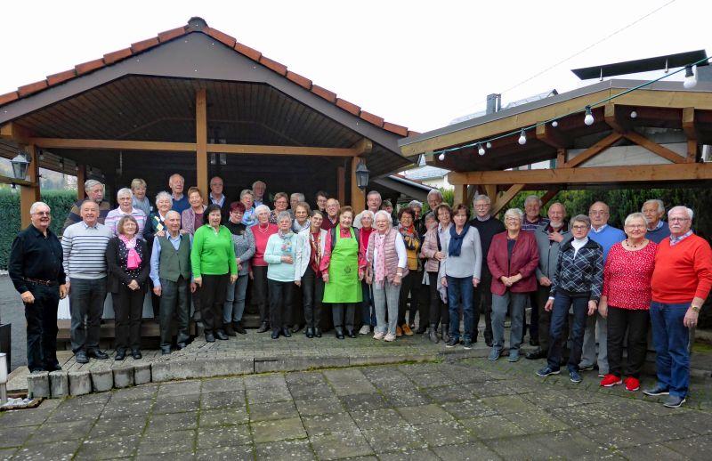 Geselliges Martinsgansessen des Westerwaldvereins Bad Marienberg