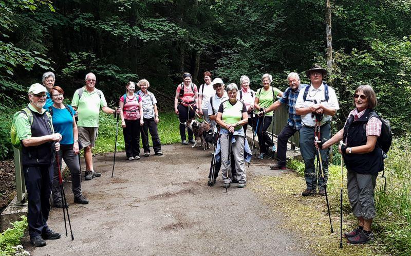 Wanderung des WWV Bad Marienberg zum Biberweiher