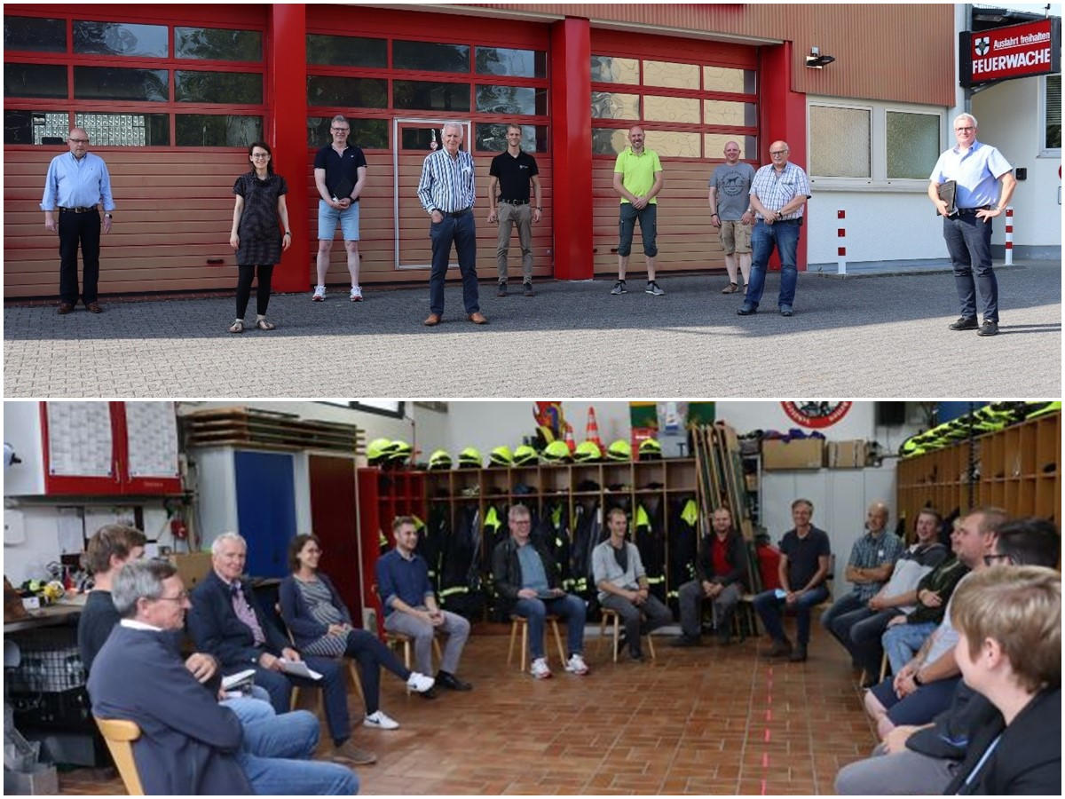 VG Bad Marienberg: Feuerwehr im Austausch mit der CDU-Fraktion