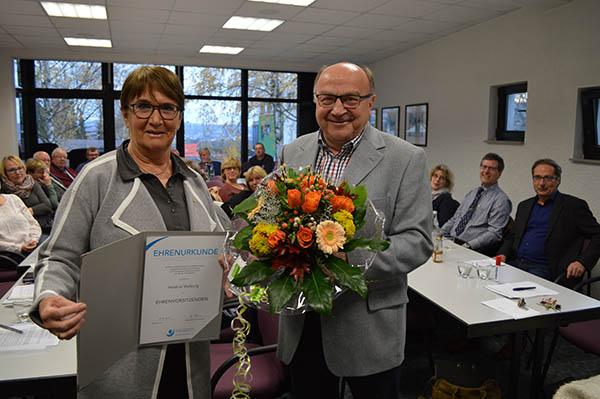 Heidrun Walburg ist Ehrenvorsitzende des VMB