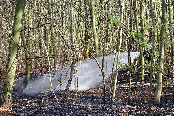 Waldbrand in Ehlscheid