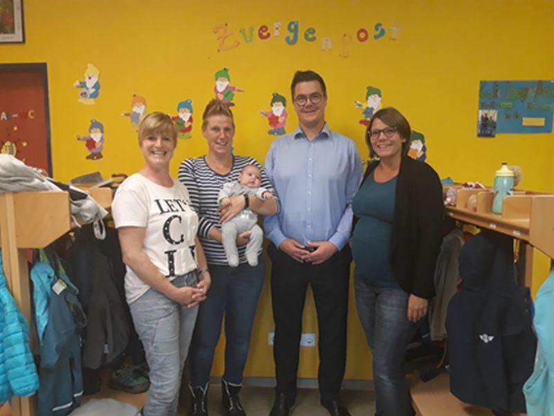 Ev. Kindertagesstätte Waldwichtel Hardert mit neuem Elternbeirat und Laternen