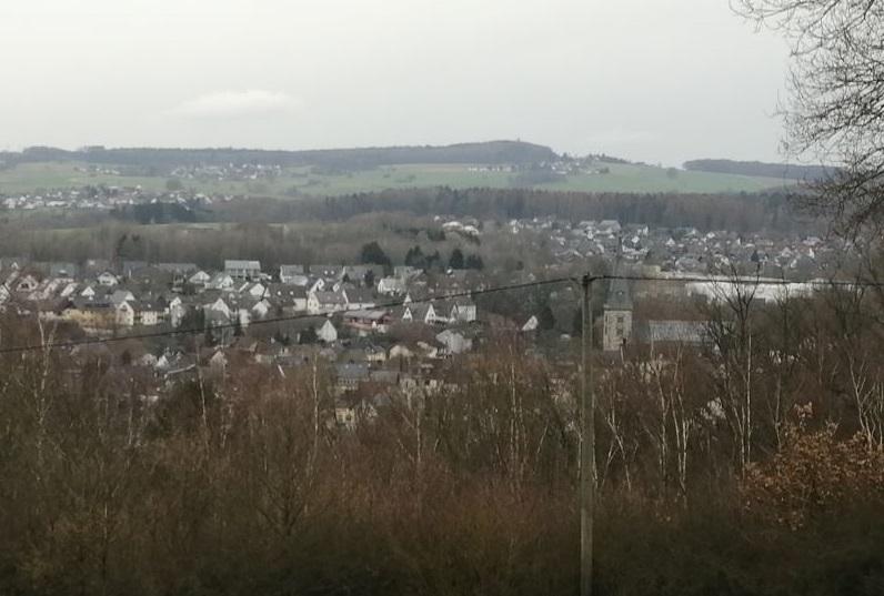 Grün-braune Landschaft so weit das Auge reicht: Von Schnee bedeckt war die Mittelgebirgsregion rund um Altenkirchen in diesem Winter bislang noch nicht. (Foto: hak)