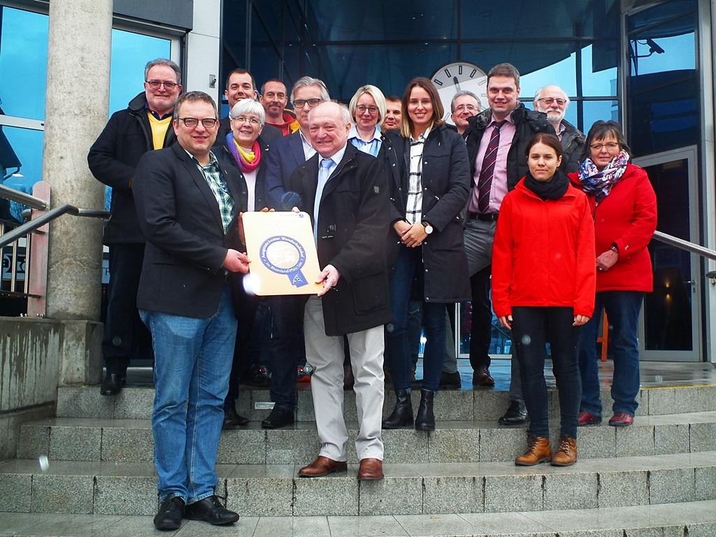 Regio-Bahnhof Wissen wird �Wanderbahnhof Rheinland-Pfalz�