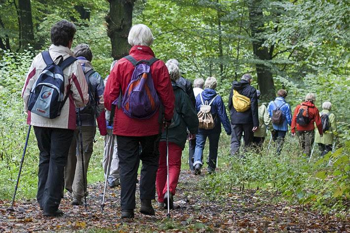 1. Sternwanderung in der Raiffeisenregion Westerwald