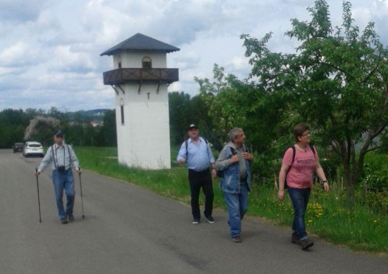 Wanderung am Limesweg entlang. Fotos: Veranstalter
