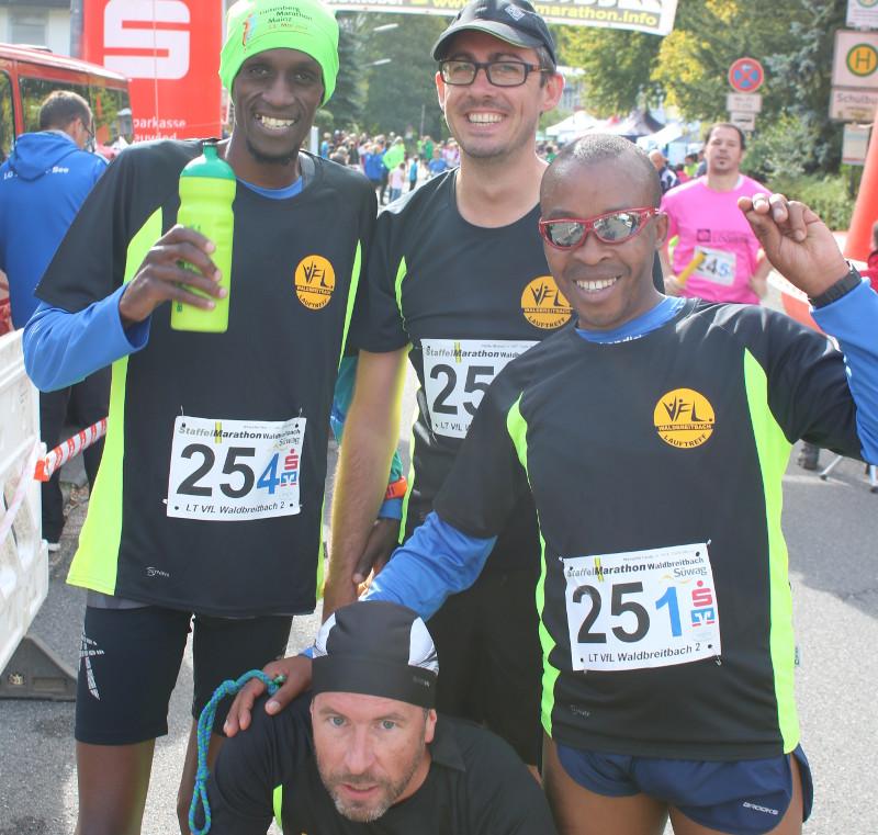 Teilnehmerrekord beim 9. Staffel-Marathon