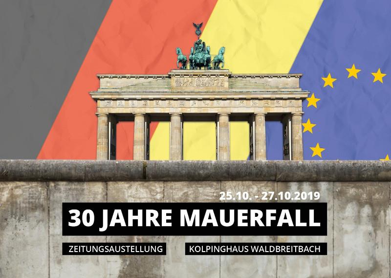 30 Jahre Mauerfall: Die große Zeitungsausstellung