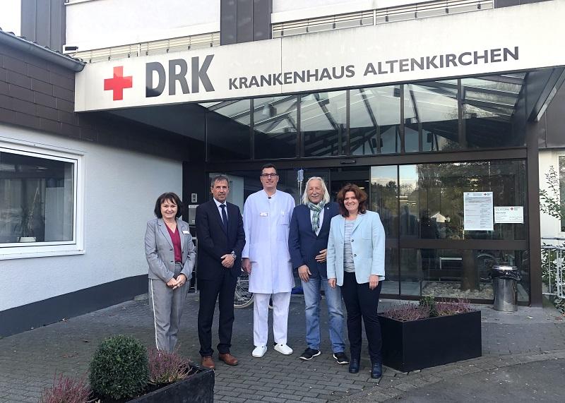 Sandra Weeser besuchte DRK-Krankenhaus in Altenkirchen