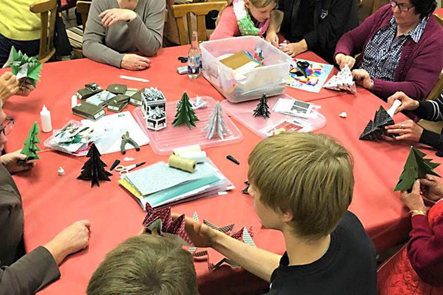 Einladung zur Weihnachtswerkstatt im Bürgertreff Dernbach