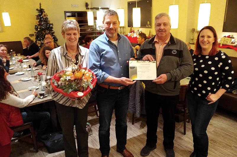 RV Dierdorf feierte Jahresabschluss und ehrte Ralph Schneider