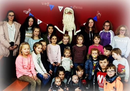 Der Weihnachtsmann besuchte Scheuerfelder Karnevalisten