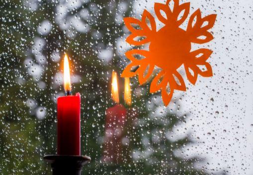 An Heiligabend ist eher selten mit Schnee und Eis zu rechnen. (Foto: WetterOnline)