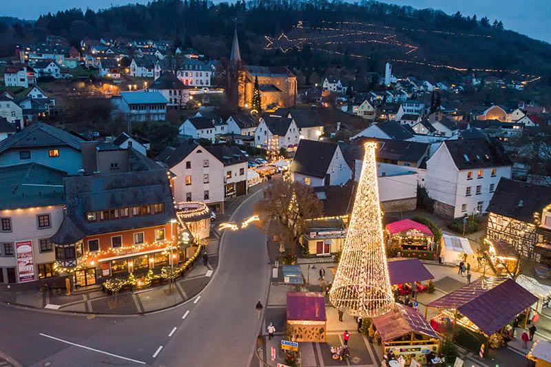 Weihnachtsdorf Waldbreitbach noch bis Ende Januar geöffnet