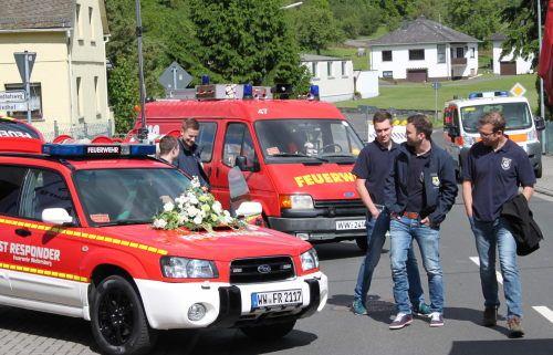 Einweihung bei der FFW Weltersburg. Fotos: Ulrike Preis