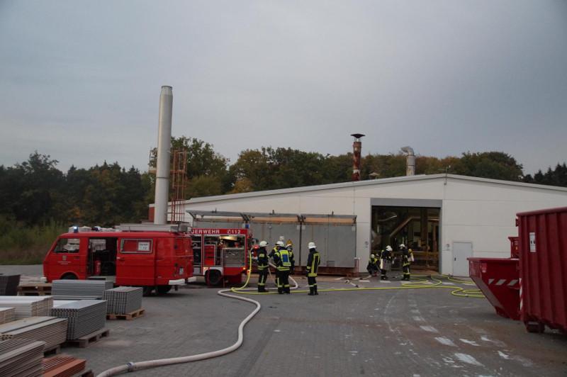 Feuerwehren übten den Ernstfall