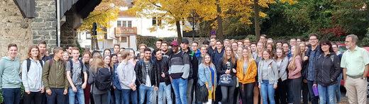 Auf Goethes Spuren: Marienstatter Gymnasiasten in Wetzlar