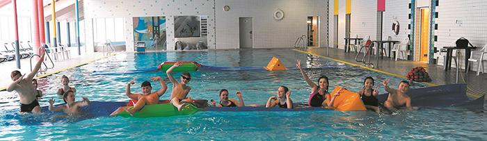 Neuer Wasserparcours fürs Wiedtalbad gespendet