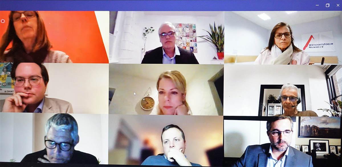 Landtagswahl: Kandidaten zu Gast beim WiFo Neuwied