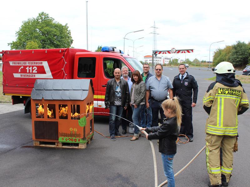 Neues Übungshaus für die Brandschutzerziehung