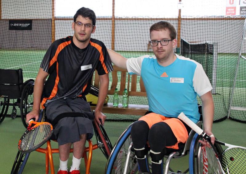 3. Rollstuhltennis-Meisterschaft: Dominik Lust erneut Meister