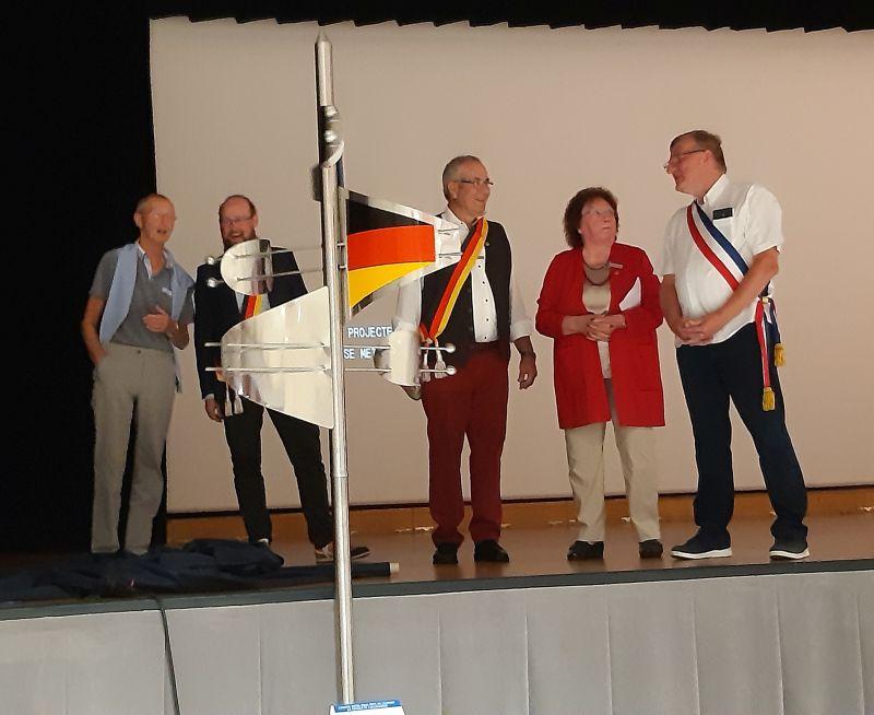 Bad Marienberg feierte mit französischer Partnerstadt