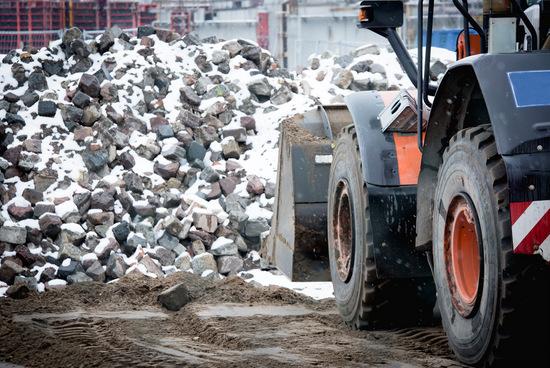 Winter-Baustellen: Gewerkschaft weist auf Arbeitsschutz hin