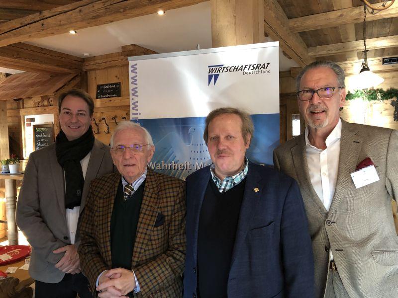 Wirtschaftsrat in der Sektion Westerwald wählte neuen Vorstand