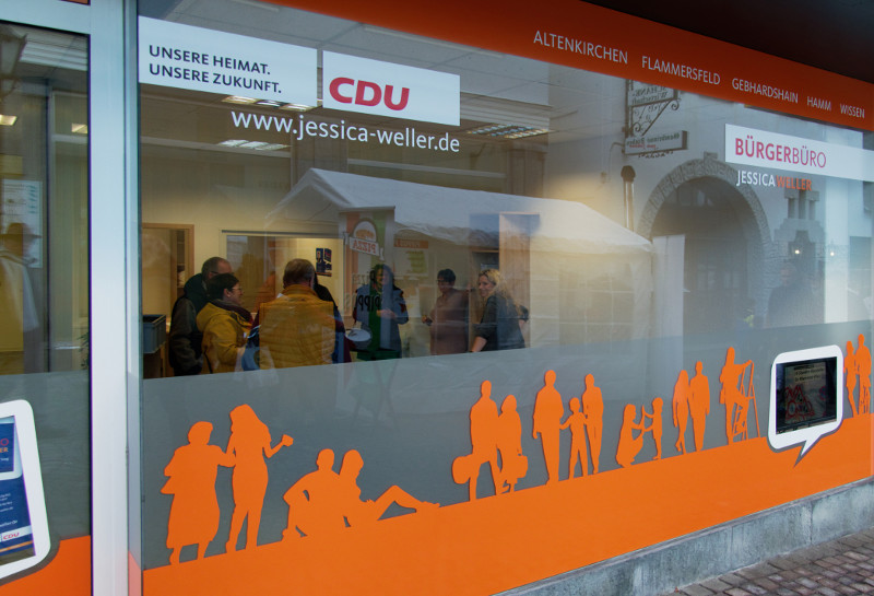 Neues B�rgerb�ro der CDU in Wissen