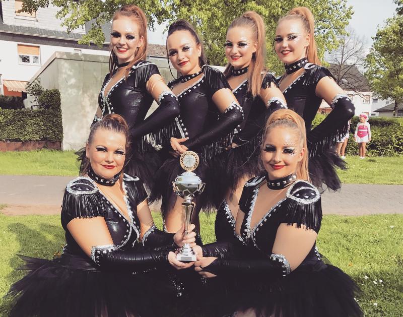 Tanzcorps qualifiziert sich f�r die Landesmeisterschaften