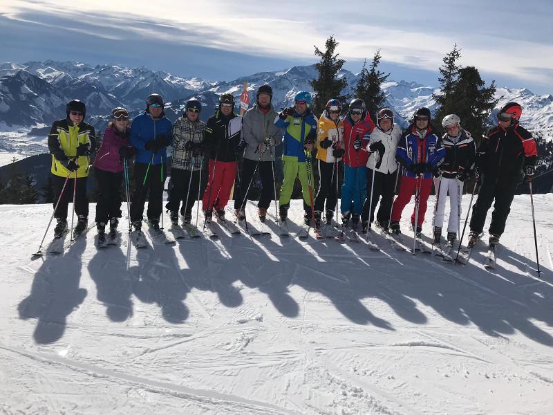 Ski-Club Wissen unterwegs im Salzburger Land