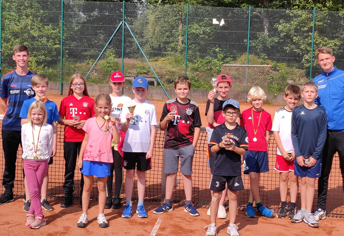 Jugendclubmeisterschaft der Tennisfreunde Blau-Rot Wissen