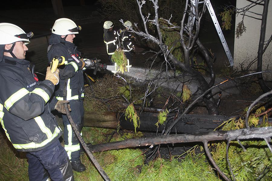 Feuerwehr Puderbach am Freitag zwei Mal gefordert