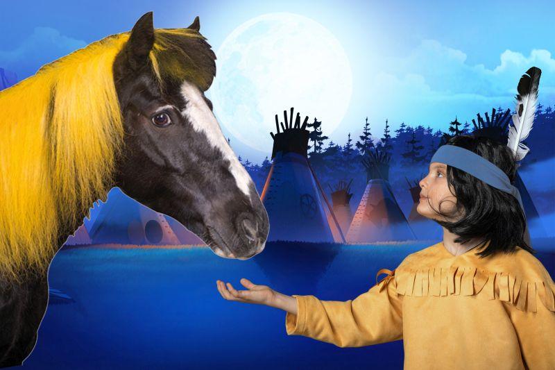 Yakari und Kleiner Donner – Europas einzigartige Pferdeshow