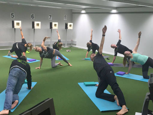 Power-Yoga-Workshop bei den Wissener Sportsch�tzen