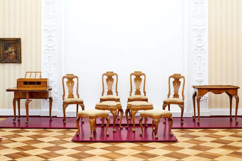 Abraham Und David Roentgen Möbel Für Europa Führung Durch Die