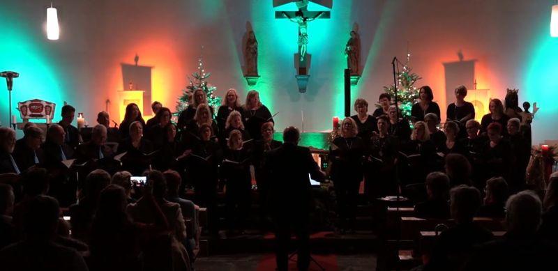 Weihnachtskonzert Klangzauber des Gesangvereins Cäcilia aus Ruppach-Goldhausen
