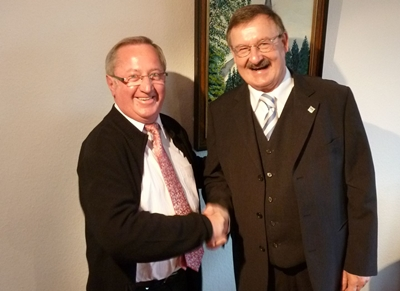 Bürgermeister Josef Zolk übernimmt LAG-Vorsitz