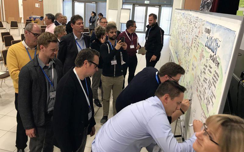 Ideen für die Weiterentwicklung von Bank und Region