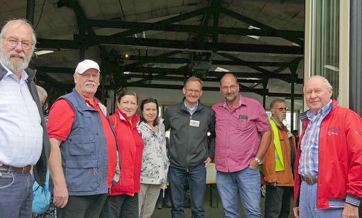Besuchertag beim Pionier der Erneuerbaren Energien in Langenbach