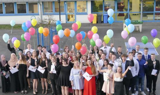 IGS Hamm: Abiturienten nehmen Abschied