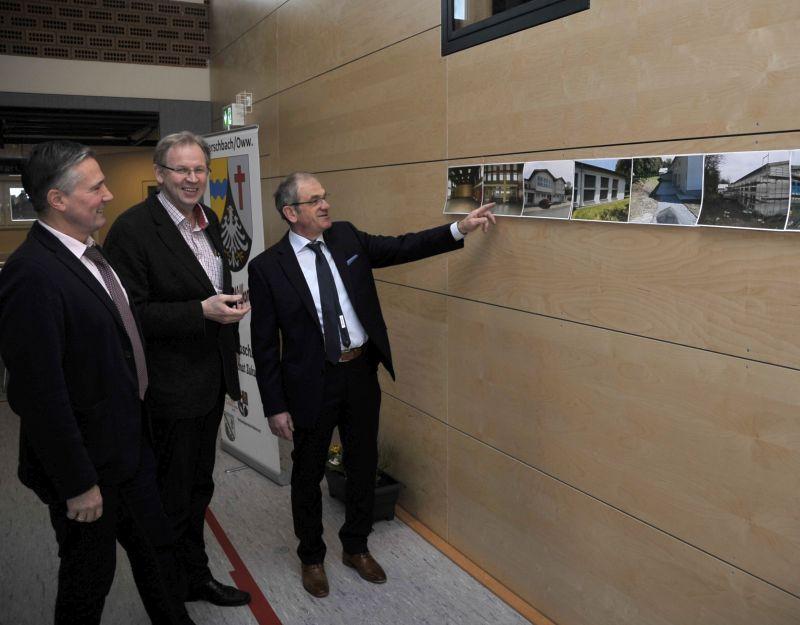 Mehrzweckhalle Herschbach wieder eingeweiht