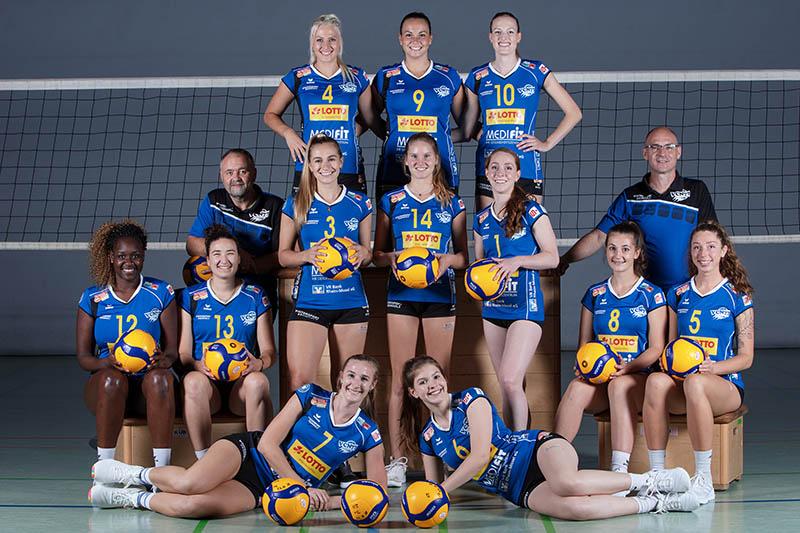Spielen in der kommenden Saison in der 1. Liga: die Frauen des VC Neuwied 77. (Foto: Eckhard Schwabe)