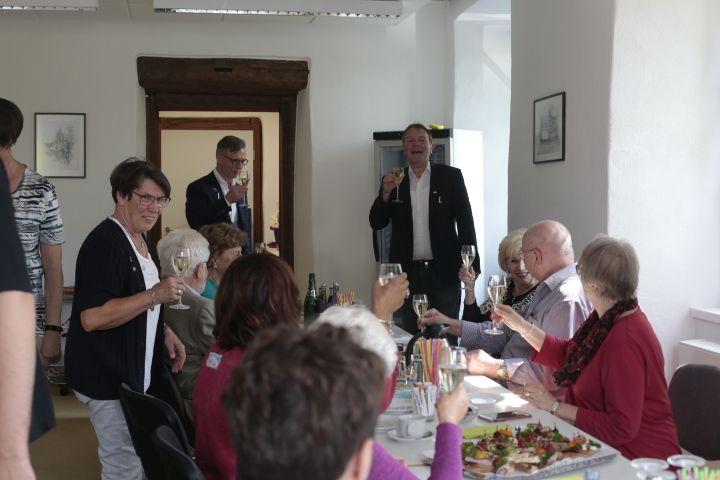 Gäste aus Partnerstadt Fountain Hills in Dierdorf