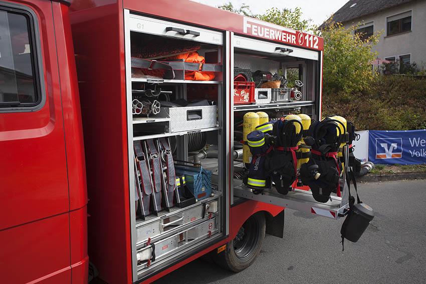 Feuerwehr Oberdreis lud Bevölkerung ein