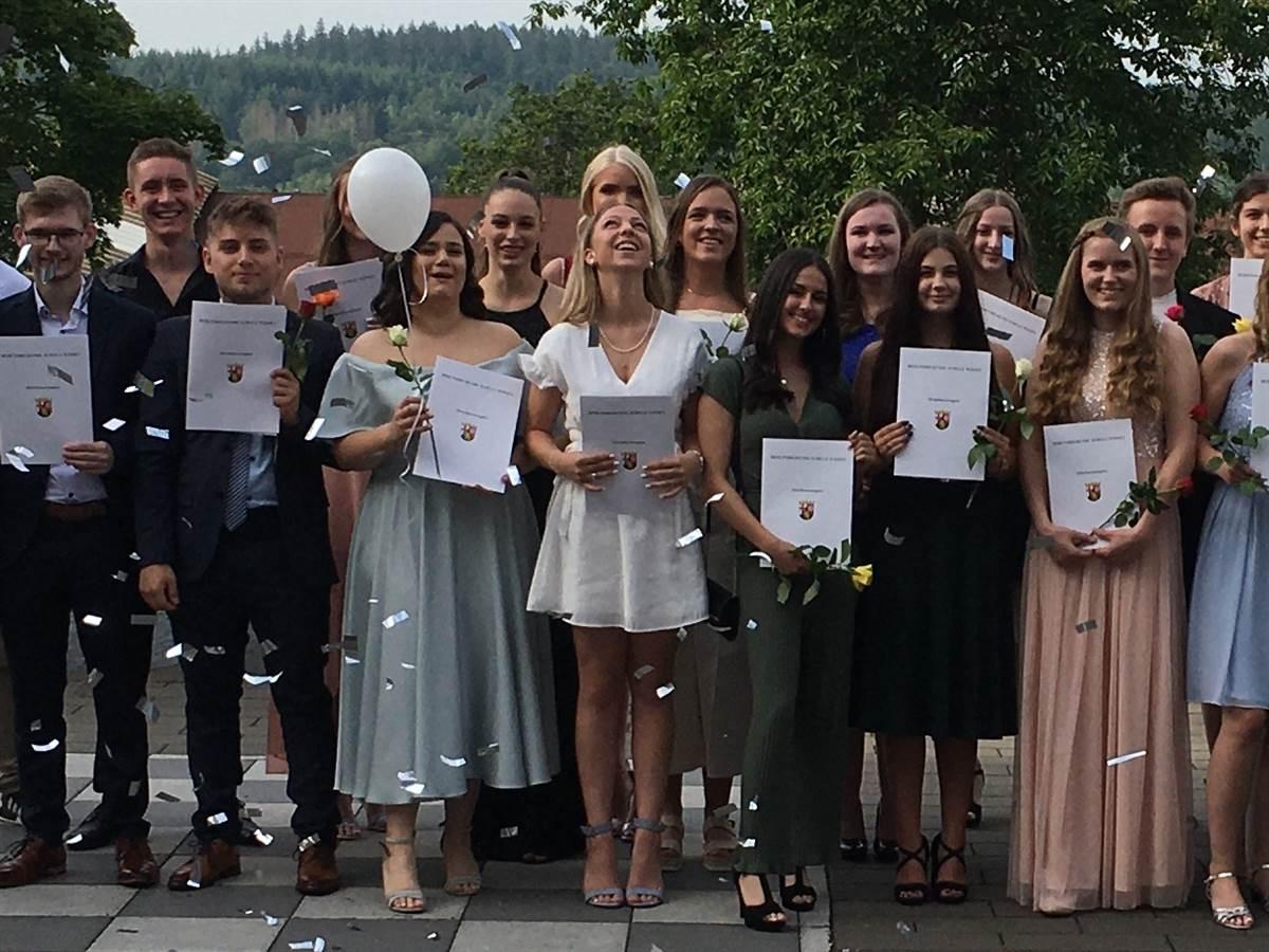 Abitur-Entlassfeier BBS Wissen: Krise als Bewährungsprobe