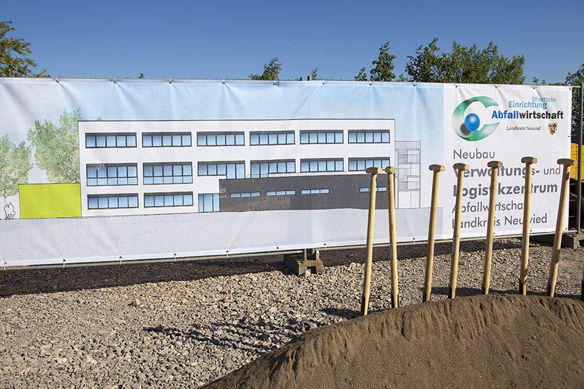 Neubau der Abfallwirtschaft des Kreises Neuwied startet