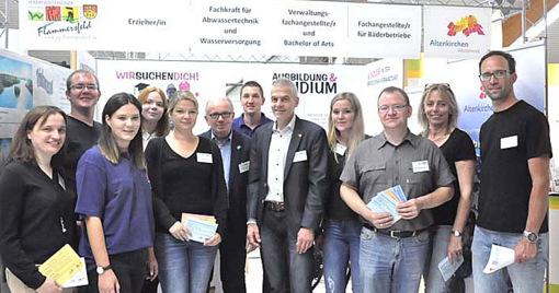 ABOM 2018: Arbeitgeber informierten Jugendliche und Eltern �ber die Berufswelt