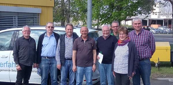 Sicher auf der Piste: B�rgerbus-Team absolvierte Fahrsicherheitstraining